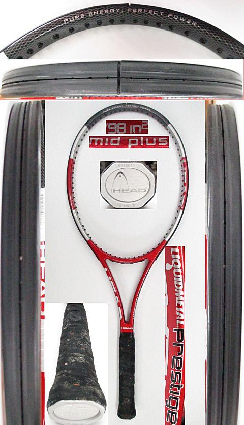 【中古 テニスラケット】H0513 ヘッド リキッドメタル プレステージMP