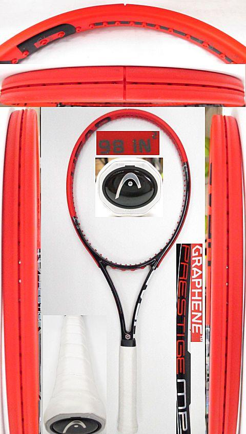 【中古 テニスラケット】H0540 ヘッド グラフィン プレステージMP
