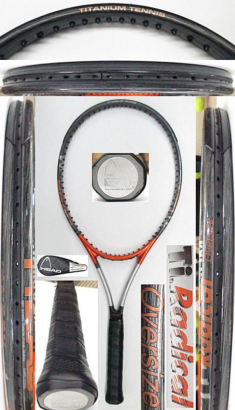 【中古 テニスラケット】H0549 ヘッド TiラジカルOS
