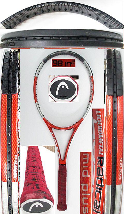 【中古 テニスラケット】H0556 ヘッド リキッドメタル ラジカルMP