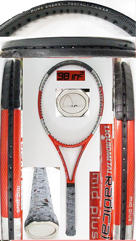 【中古 テニスラケット】H0557 ヘッド リキッドメタル ラジカルMP