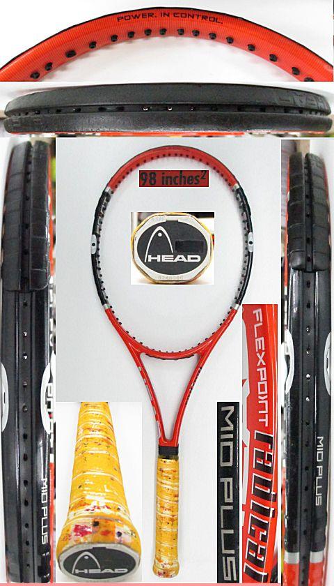 【中古 テニスラケット】H0560 ヘッド フレックスポイント ラジカルMP