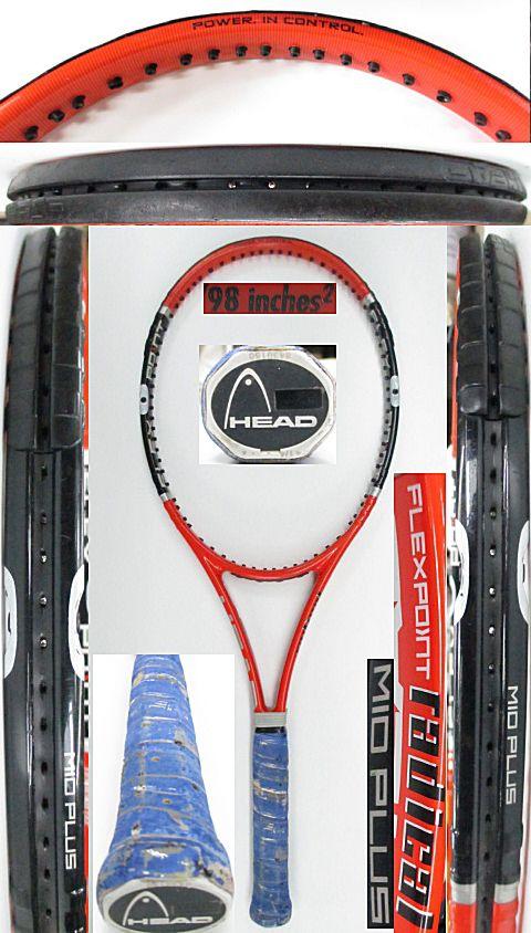 【中古 テニスラケット】H0562 ヘッド フレックスポイント ラジカルMP
