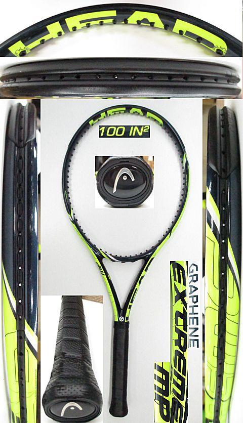 【中古 テニスラケット】H0565 ヘッド グラフィン エクストリームMP