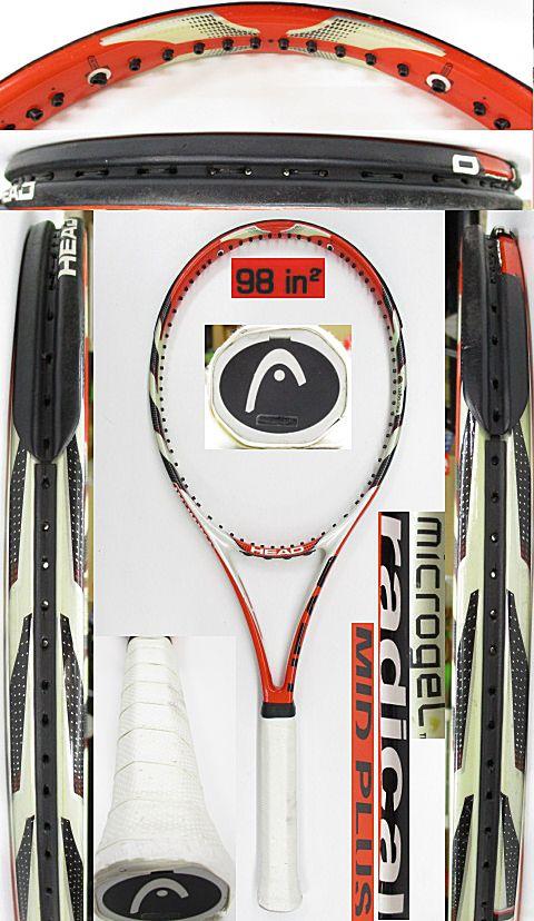 【中古 テニスラケット】H0566 ヘッド マイクロジェル ラジカルMP