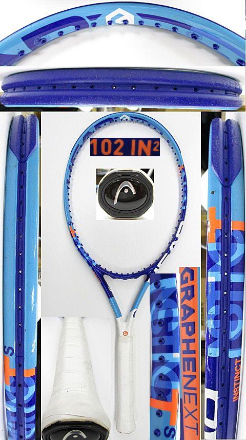 【中古 テニスラケット】H0570 ヘッド グラフィンXT インスティンクトS