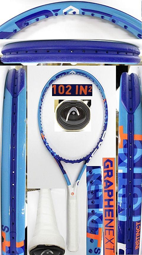 【中古 テニスラケット】H0571 ヘッド グラフィンXT インスティンクトS
