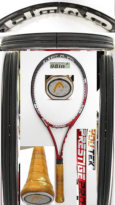 【中古 テニスラケット】H0572 ヘッド ユーテック プレステージPRO