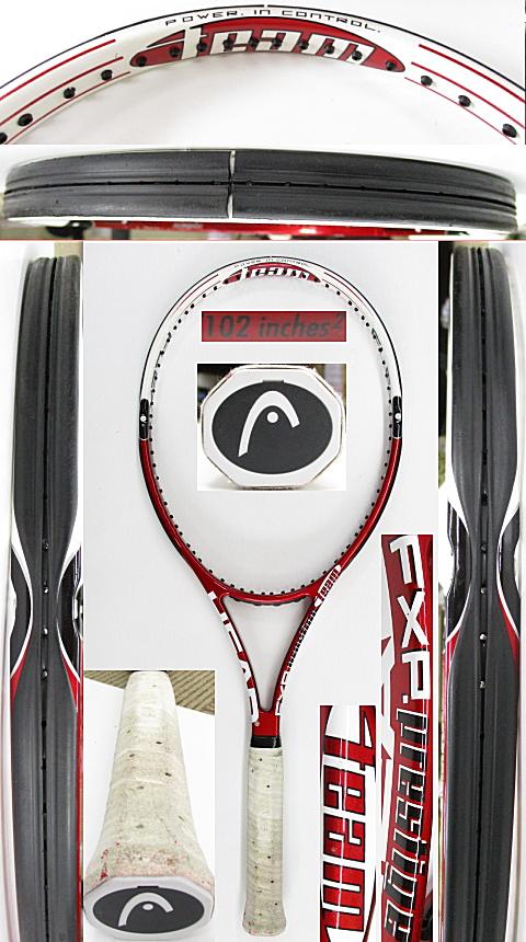 【中古 テニスラケット】H0581 ヘッド フレックスポイント プレステージチーム