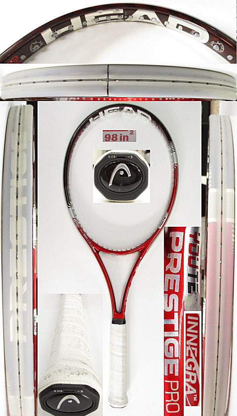 【中古 テニスラケット】H0583 ヘッド ユーテックIGプレステージMP