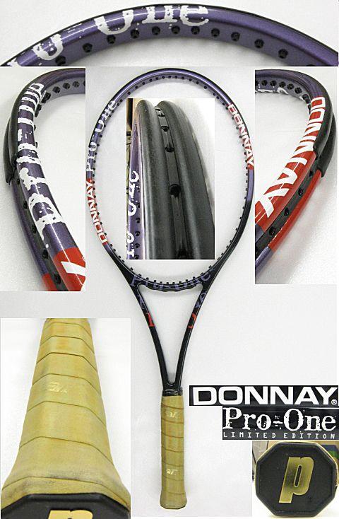 【中古テニスラケット】ドネー プロワン インターナショナル リミテッドエディション スーパーミッド Donnay Pro One International Limited Edition Super mid