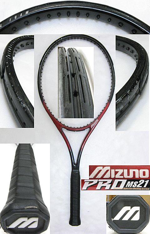 【中古テニスラケット】ミズノ プロ MS21 PRO MS21