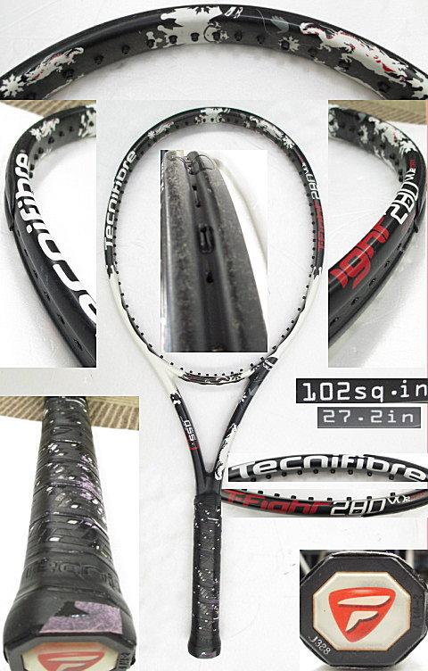 【中古 テニスラケット】OT0188 テクニファイバー T-FIGHT280