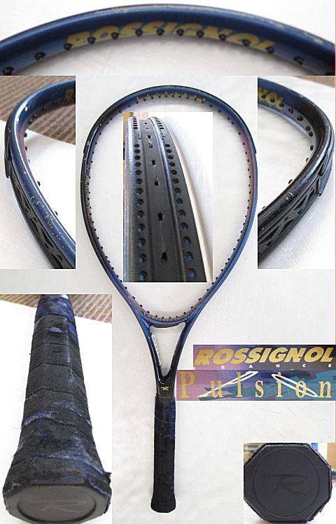 【中古 テニスラケット】OT0190 ロシニョール Pulsion