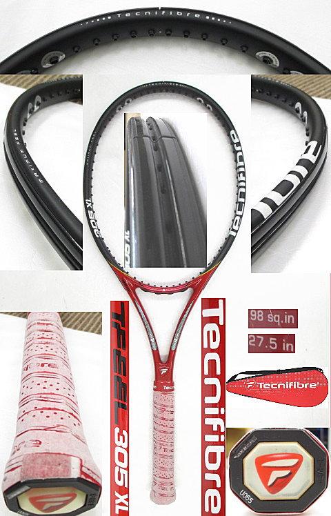 【中古 テニスラケット】OT0198 テクニファイバー T-FEEL305XL