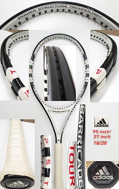 【中古 テニスラケット】OT0199 アディダス バリケードツアー