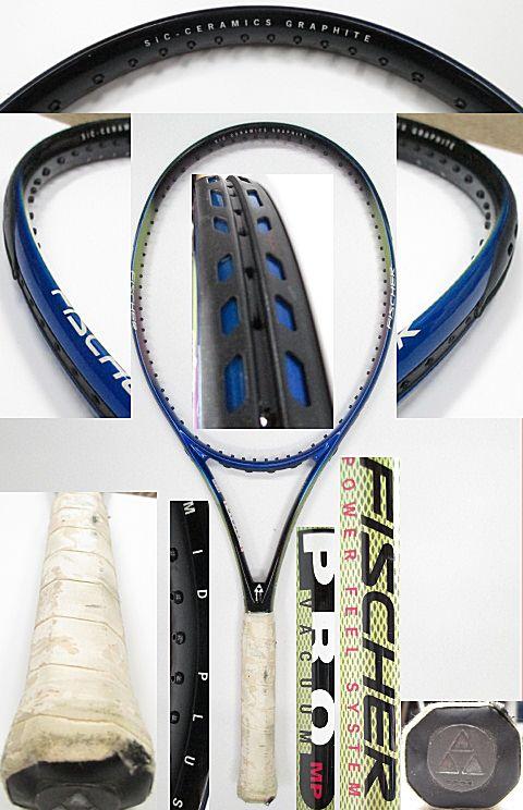 【中古 テニスラケット】OT0223 フィッシャー バキュームプロMP