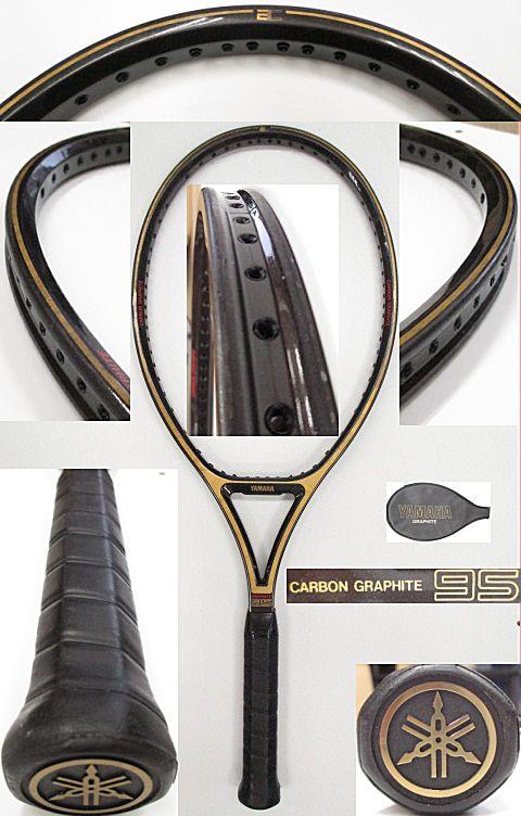 【中古 テニスラケット】OT0224 ヤマハ カーボングラファイト95