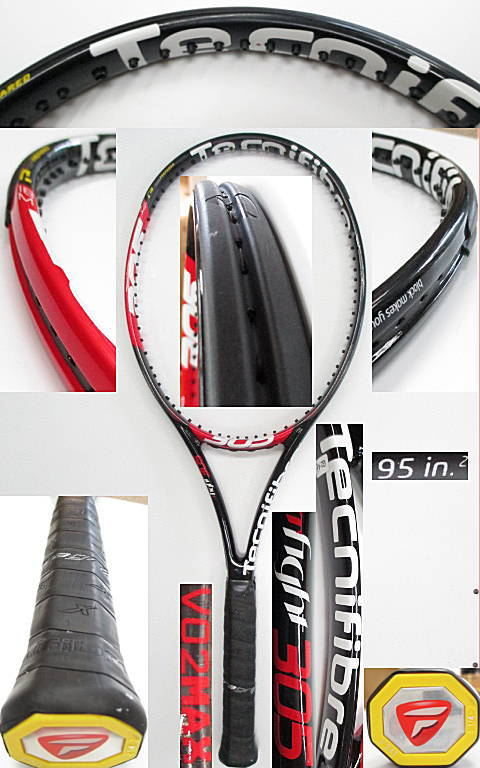 【中古 テニスラケット】OT0226 テクニファイバー T-FIGHT305 VO2max