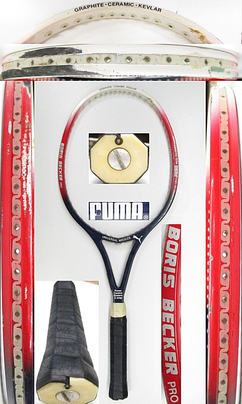 【中古 テニスラケット】 OT0238 プーマ ボリスベッカープロ