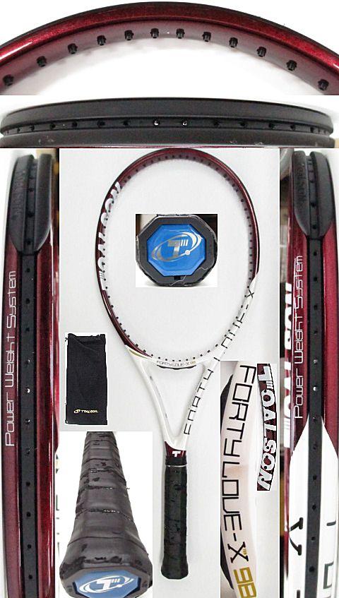 【中古 テニスラケット】OT0250 トアルソン フォーティーラブ-X98