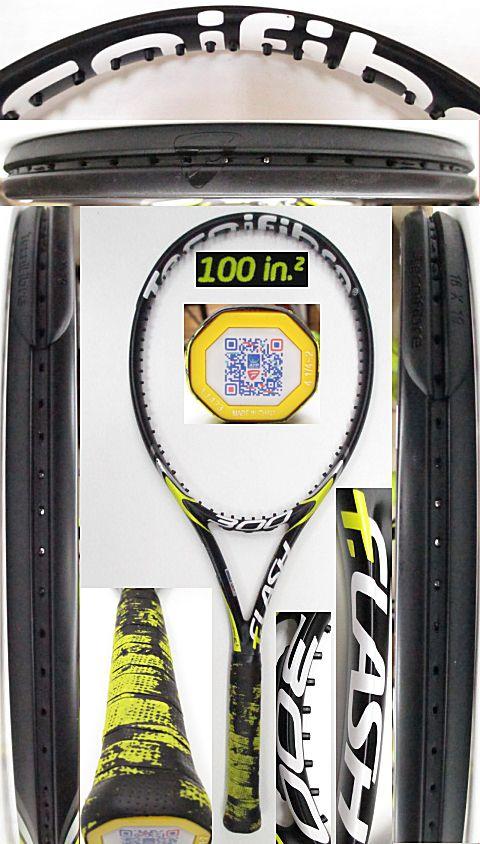 【中古 テニスラケット】OT0252 テクニファイバー T-フラッシュ300