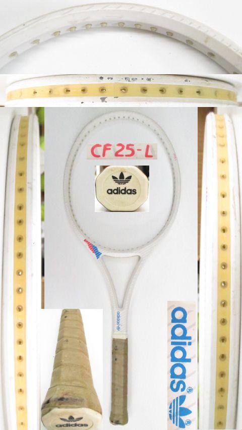【中古 テニスラケット】OT0254 アディダス CF25-L