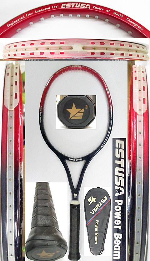 【中古 テニスラケット】OT0255 エスチューサ パワービーム