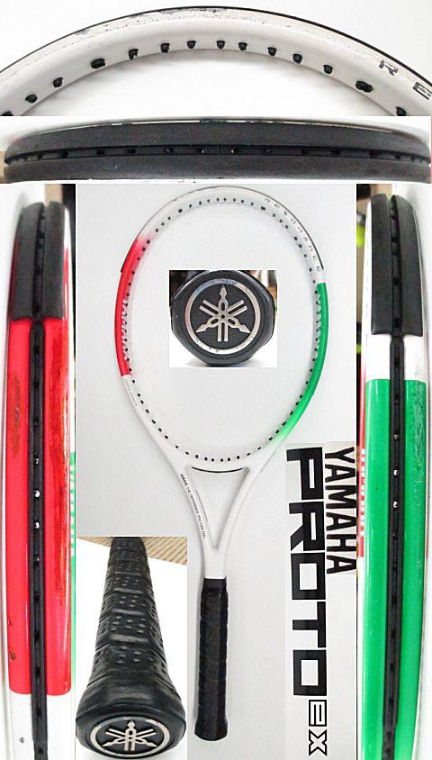 【中古 テニスラケット】OT0261 ヤマハ プロトEX