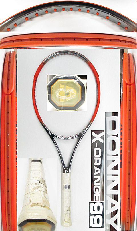 【中古 テニスラケット】OT0265 ドネー X-オレンジ99