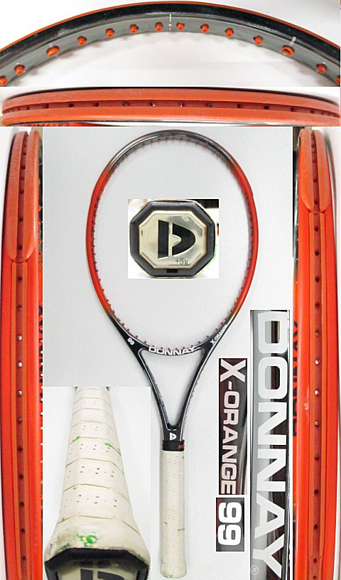 【中古 テニスラケット】OT0266 ドネー X-オレンジ99