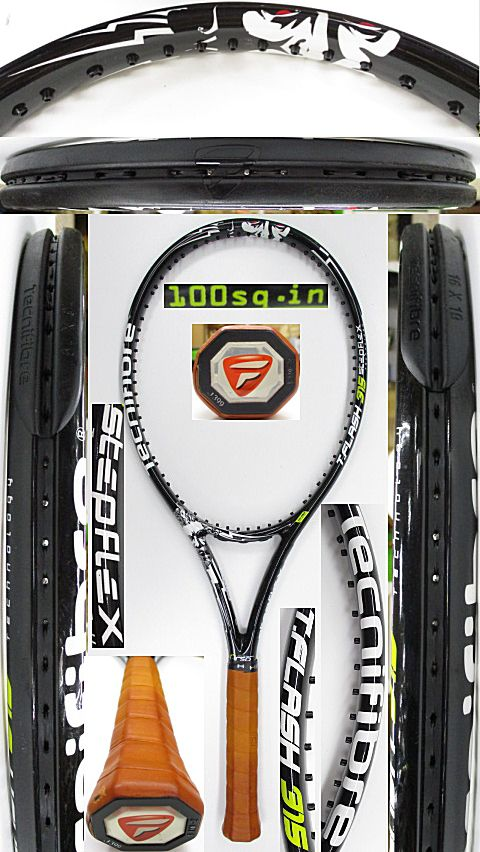 【中古 テニスラケット】OT0272 テクニファイバー T.FLASH315 STEPFLEX