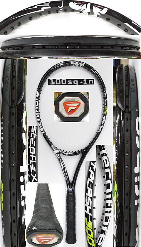 【中古 テニスラケット】OT0273 テクニファイバー T.FLASH300 STEPFLEX