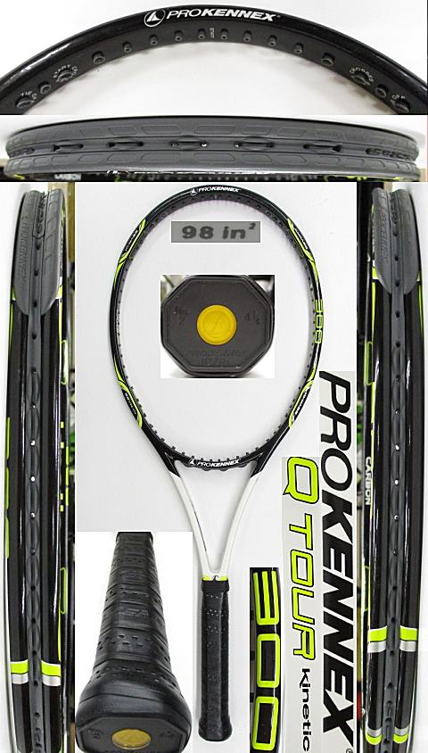 【中古 テニスラケット】OT0280 プロケネックス Ki Qツアー300