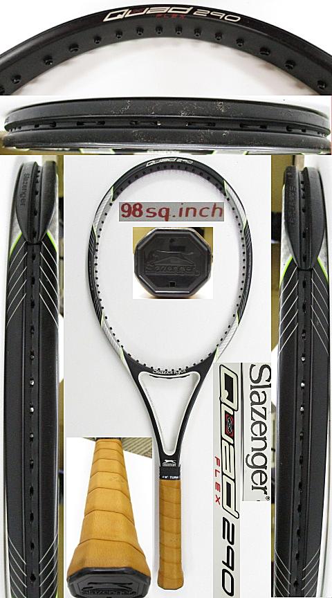 【中古 テニスラケット】OT0281 スラセンジャー Quad Flex290