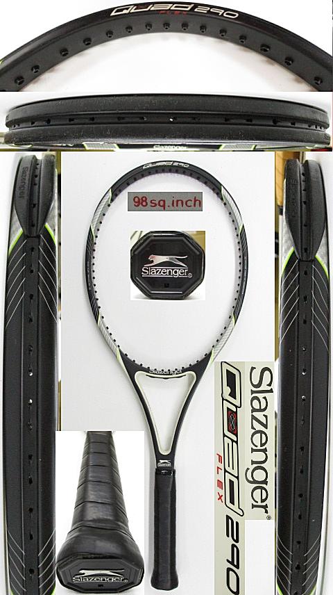 【中古 テニスラケット】OT0282 スラセンジャー Quad Flex290