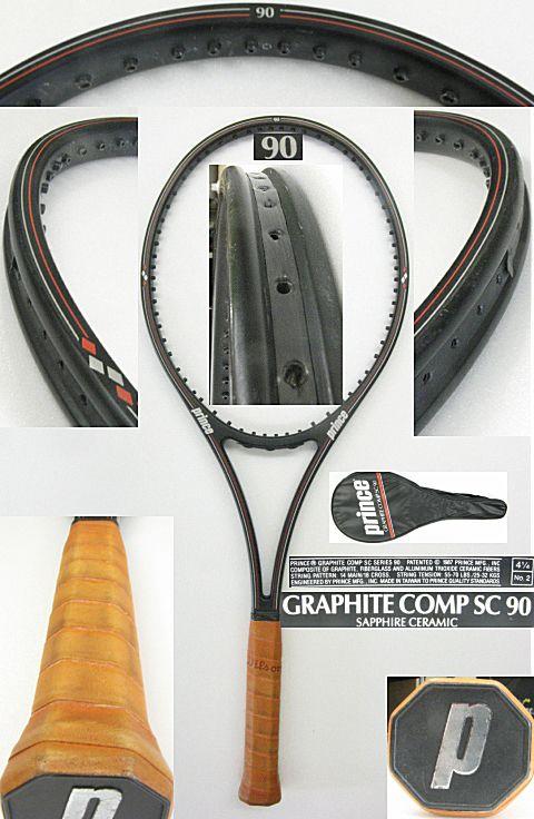 【中古テニスラケット】プリンス グラファイト コンプ SC 90 GRAPHITE COMP SC 90