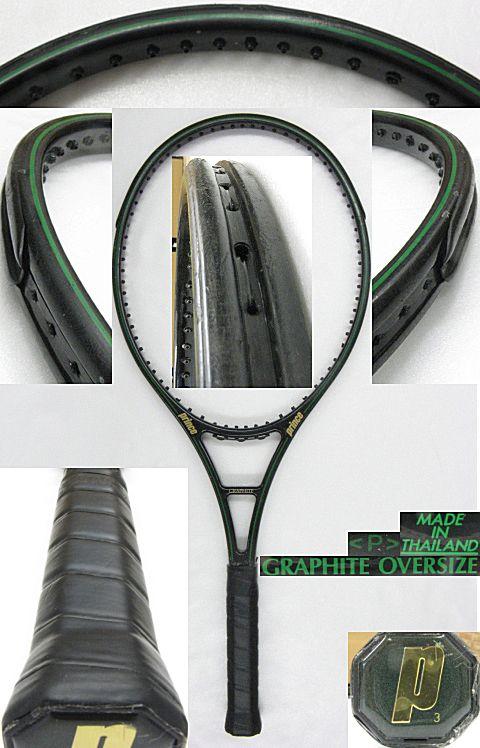 【中古テニスラケット】プリンス グラファイト オーバーサイズ(タイ製) GRAPHITE OVERSIZE