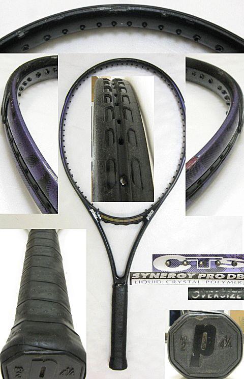【中古テニスラケット】プリンス CTS シナジープロDB オーバーサイズ CTS SYNERGY PRO DB OVERSIZE