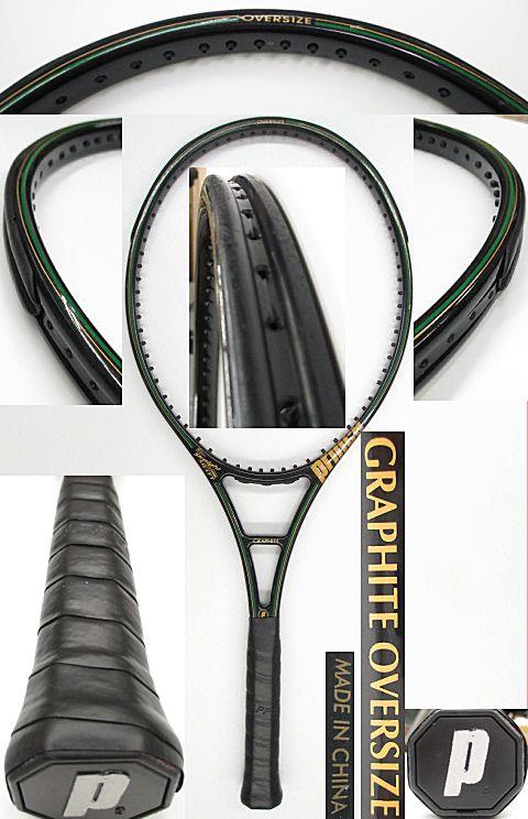 【中古 テニスラケット】P0576 プリンス グラファイト オーバーサイズ(CHINA)