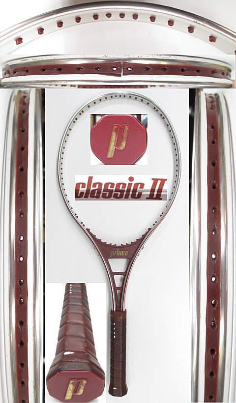 【中古 テニスラケット】P0632 プリンス クラシック2