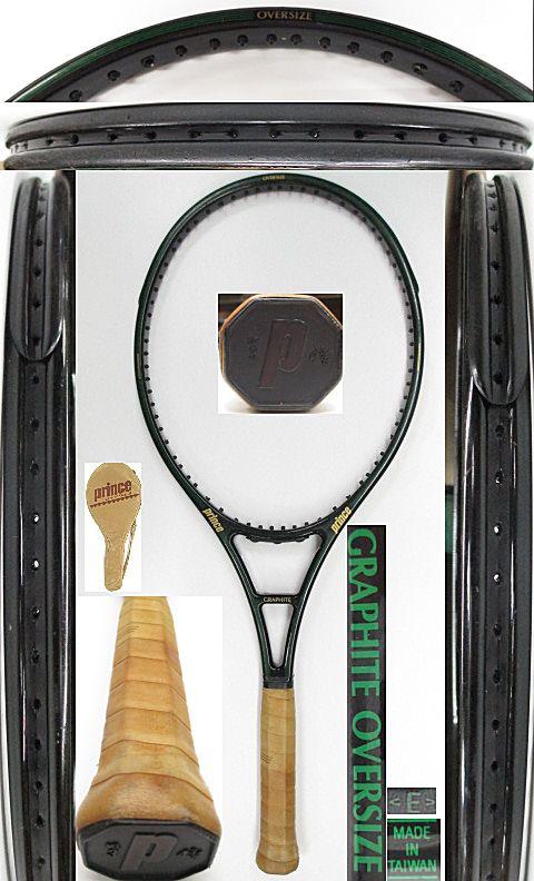 【中古 テニスラケット】P0637 プリンス グラファイトOS【TAIWAN】