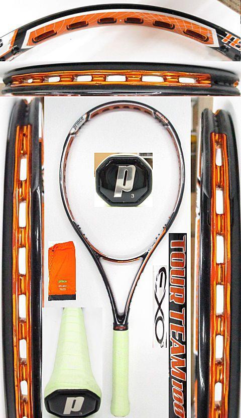 【中古 テニスラケット】P0641 プリンス EXO3ツアーチーム100