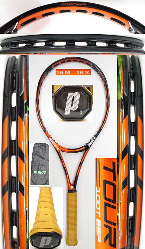 【中古 テニスラケット】P0650 プリンス ツアー100T ESP(海外モデル)