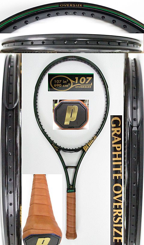 【中古 テニスラケット】P0661 プリンス グラファイト オーバーサイズ