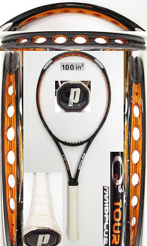 【中古 テニスラケット】P0664 プリンス O3ツアーMP