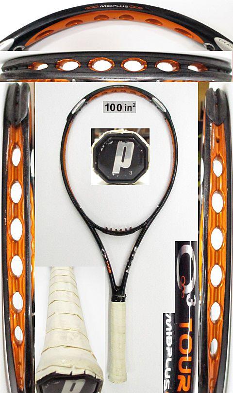 【中古 テニスラケット】P0665 プリンス O3ツアーMP