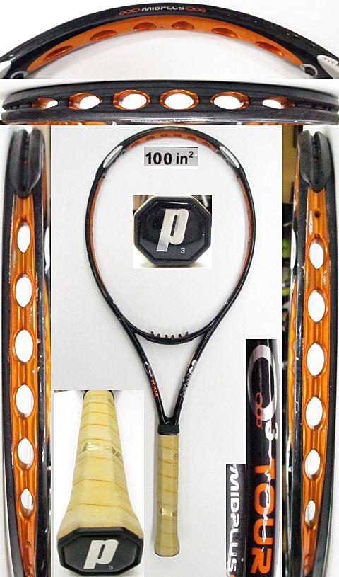 【中古 テニスラケット】P0666 プリンス O3ツアーMP