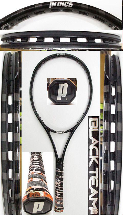 【中古 テニスラケット】P0668 プリンス EXO3ブラックチーム100