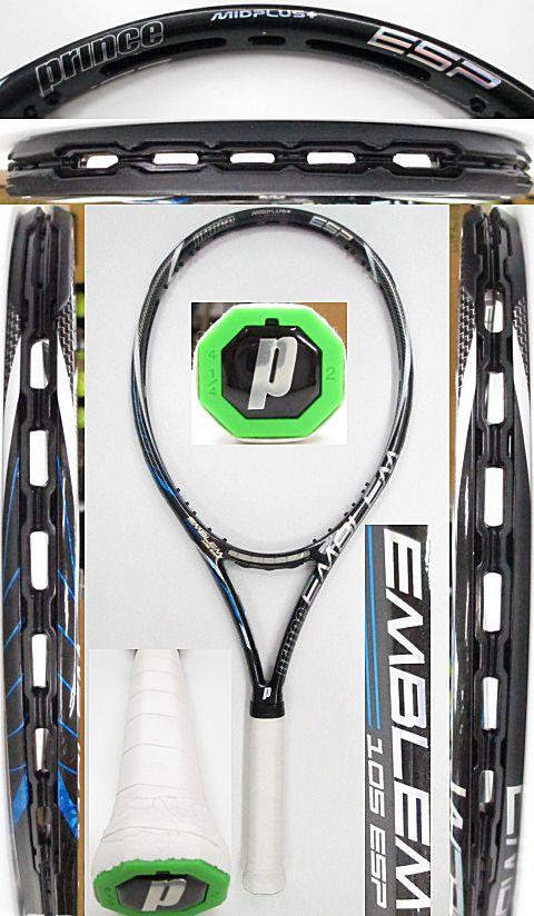 【中古 テニスラケット】P0670 プリンス エンブレム105ESP